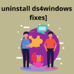 How to Uninstall DS4windows