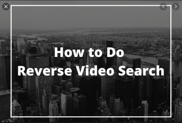 Reverse Video Search on Google