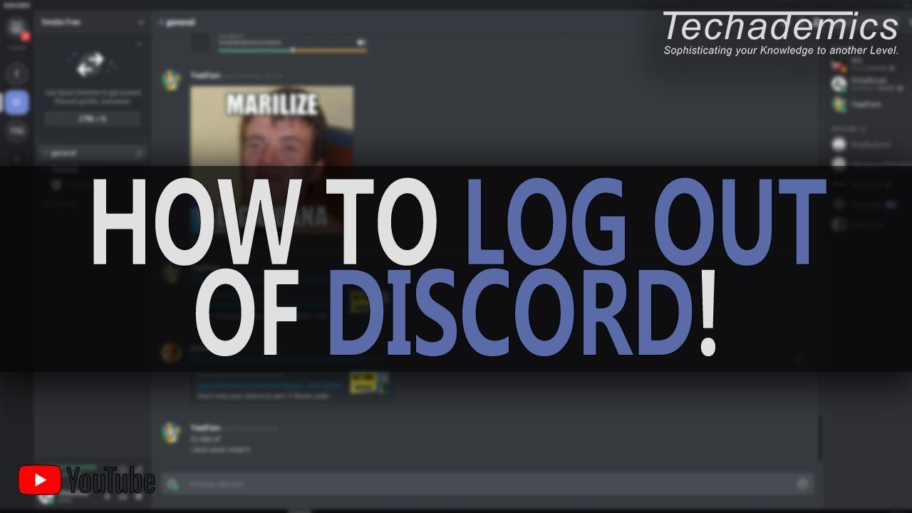 How to Log Out of Discord on a PC or Mac