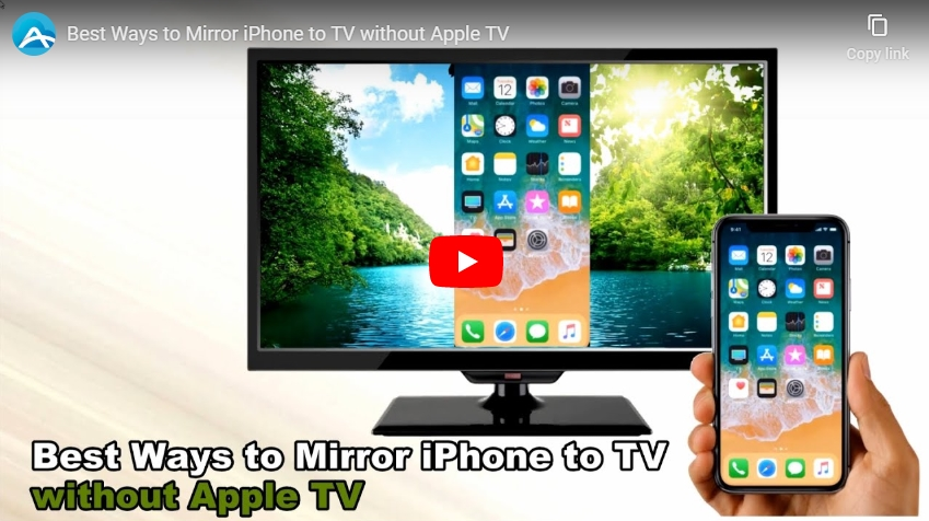 Mirror Iphone to TV without WiFi