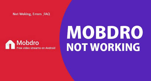 Mobdro not Working