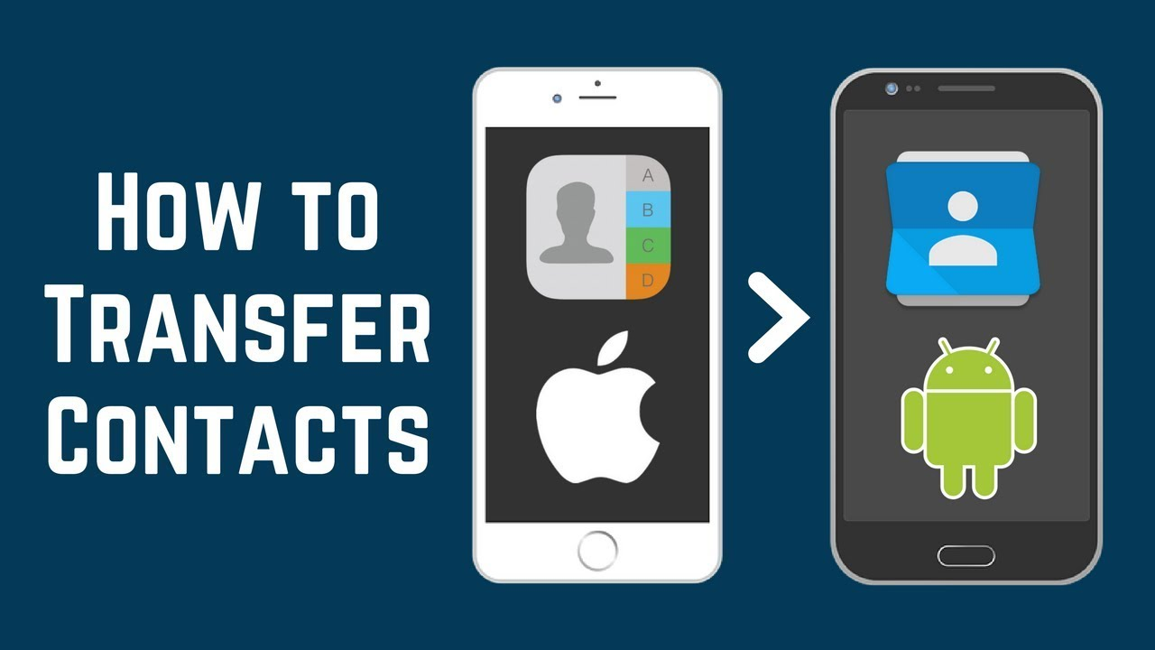 Transfer Contacts from iphone to Android using Bluetooth