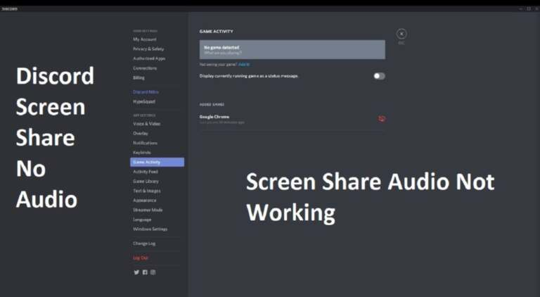 Share Discord Screen with Audio